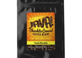 Chocolate-covered coffee beans (dark) 6-oz bag