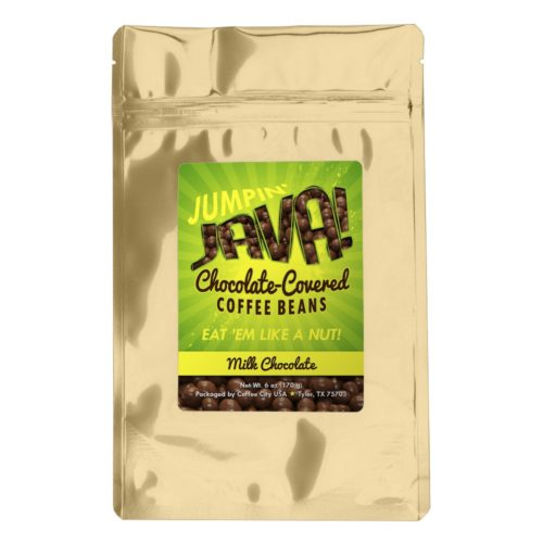 Chocolate-covered coffee beans (milk) 6-oz bag