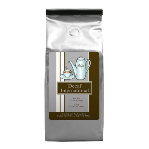 International Blend 12-oz Classic bag (decaf available)