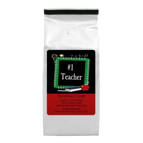 No. 1 Teacher 12-oz bag
