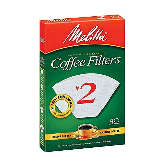 Filters (Melitta No. 2 cone style)