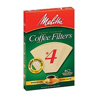 Filters (Melitta No. 4 cone style)