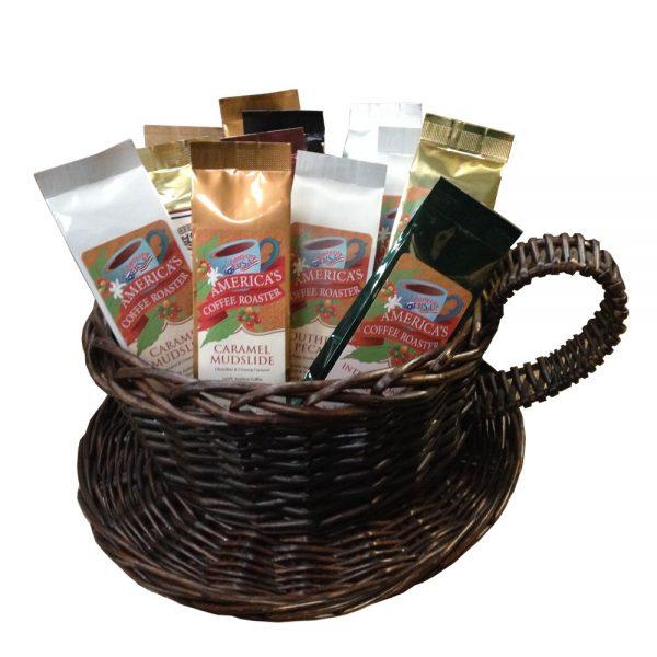 """Perfect Pot"" coffee gift basket"