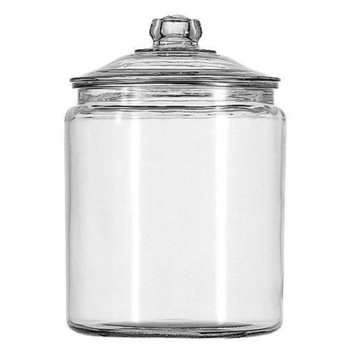 Glass jar (5-lb round)