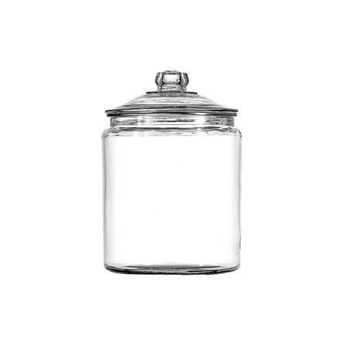 Glass jar (2.5-lb round)