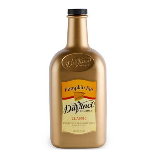 DaVinci pumpkin sauce 64-oz bottle
