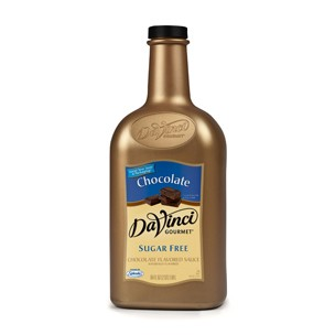 DaVinci sugar-free chocolate sauce 64-oz bottle