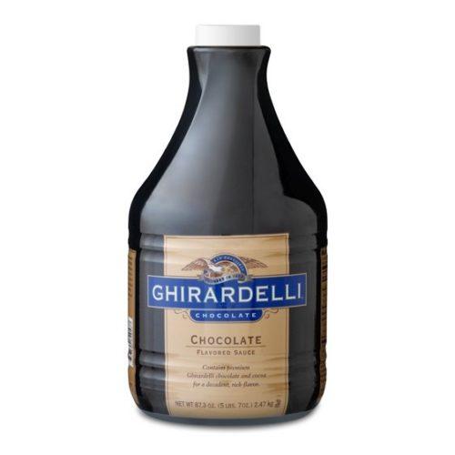 Ghirardelli chocolate sauce 5-lb bottle