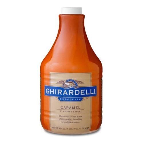 Ghirardelli caramel sauce 5-lb bottle