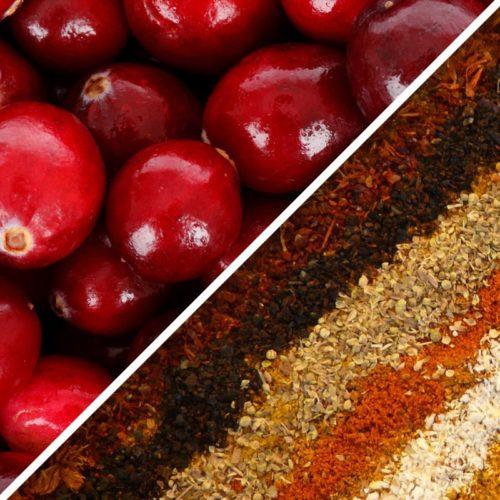 Cranberry Spiced tea