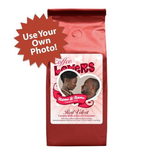 Personalized coffee lovers 12-oz bag