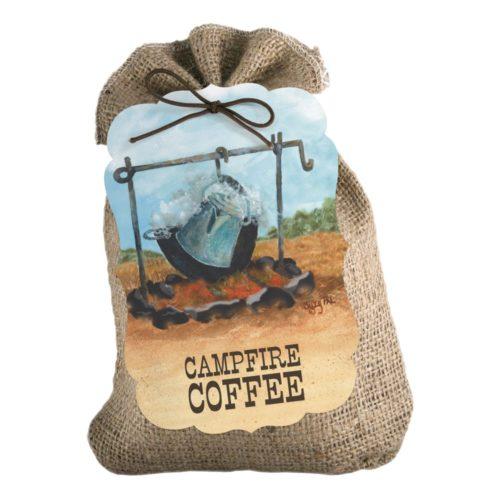 Campfire Coffee 8-oz burlap
