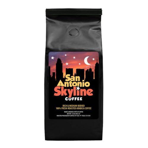 San Antonio Skyline 12-oz bag