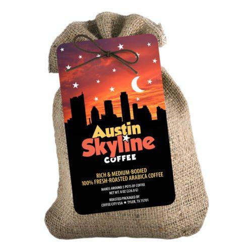 Austin Skyline 8-oz burlap