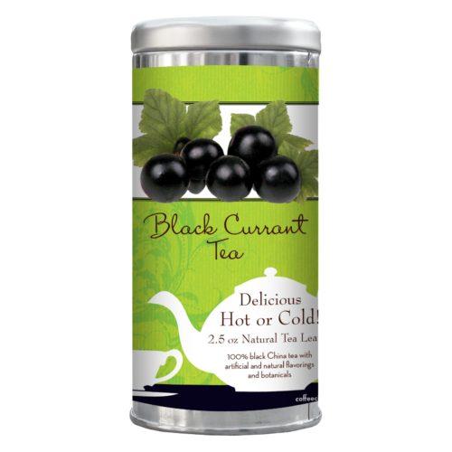 Black Currant tea 2.5-oz tin