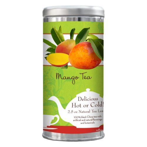 Mango tea 2.5-oz tin
