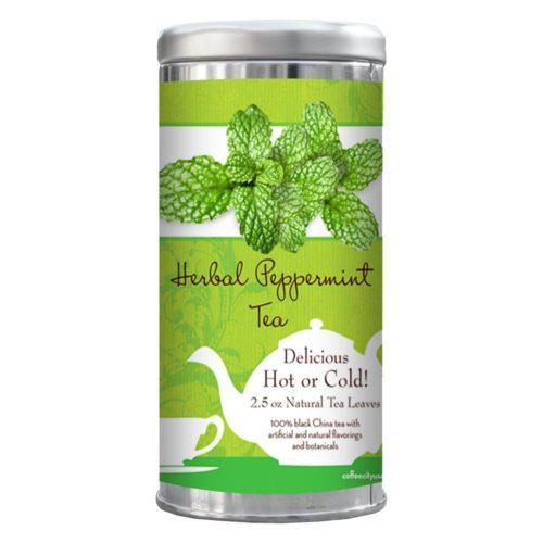 Peppermint tea 2.5-oz tin