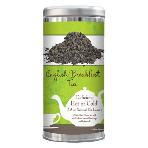 English Breakfast tea 2.5-oz tin