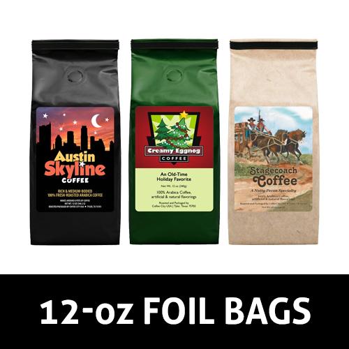 12-oz Foil Bags