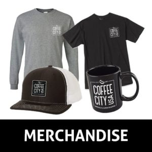 Coffee City USA Merchandise