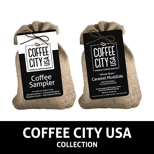 Coffee City USA Burlap Samplers