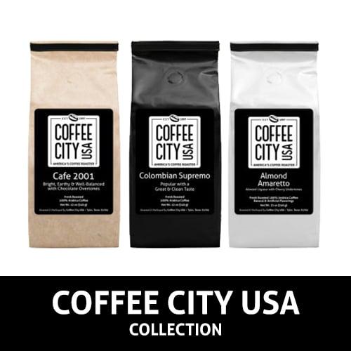 12-oz Coffee City USA Bags
