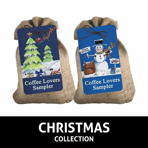 Christmas Burlap Samplers