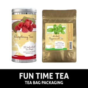 Fun Time Tea Bag Packaging